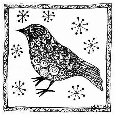 doodle bird pin bird doodles on