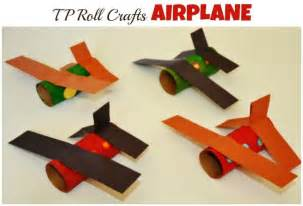 Paper Airplane Crafts For - paper roll craft airplane crafts