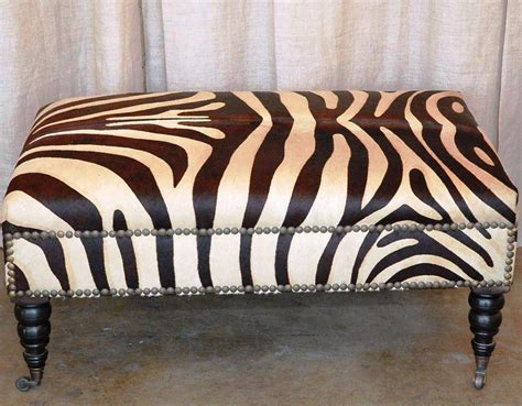 Zebra Print Table L Zebra Ottoman Coffee Table Buying Zebra Ottoman Ottomans Home Design