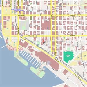 San Diego Street Map by J Street Inn San Diego California Hotel Reviews And