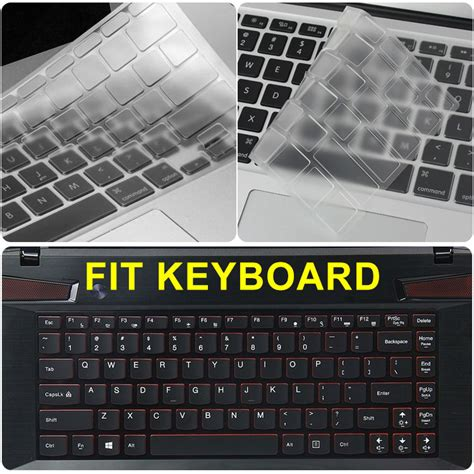 Keyboard Laptop Lenovo Z410 tpu keyboard cover skin for lenovo ideapad y400 y410p y430 g40 z410 flex 14 flex 14ap b40 sr1000