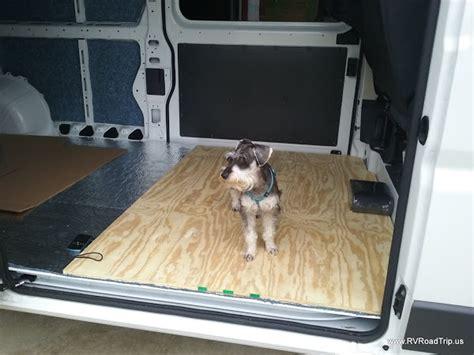 ram promaster rv camper van conversion insulation