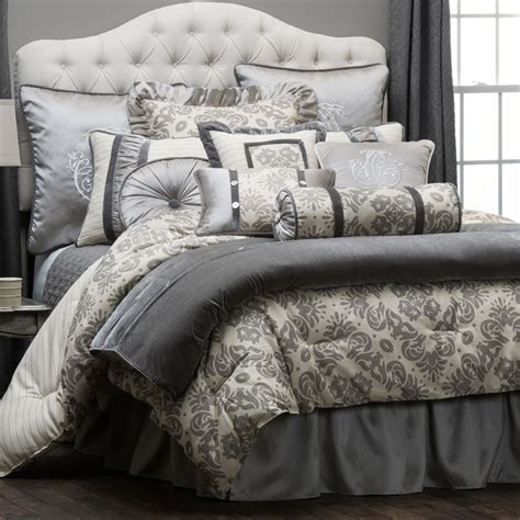 bedding collections kerrington 4 piece comforter set hiend accents luxury