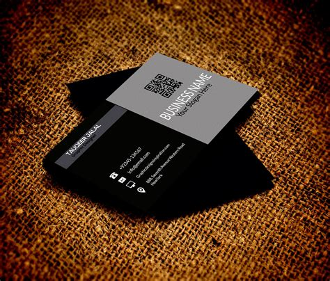 free business card templates psd business card templates psd free besttemplates123