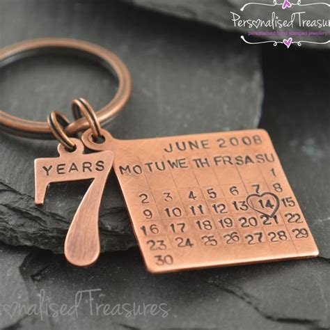Wedding Anniversary Number Gifts by Best 25 7 Year Anniversary Ideas On 7th