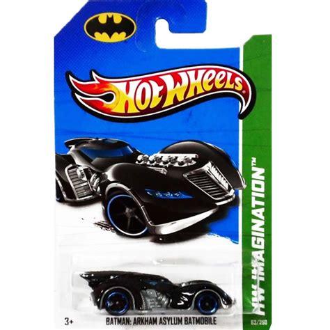 Wheels Batman 75th Anniversary 07 Batman Arkham Asylum Batmobile Arte Em Miniaturas