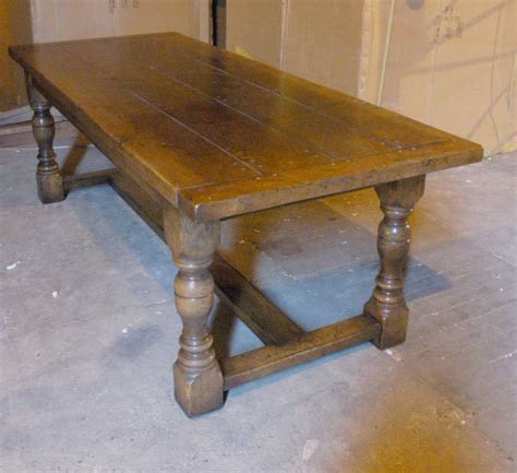 refectory bench english abbey oak rustic refectory table bench dining set