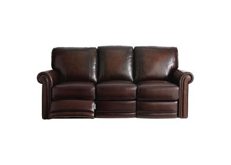 bassett hamilton reclining leather sofa set new living