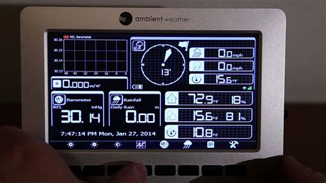 ambient weather ws 1000 wifi solar powered wireless