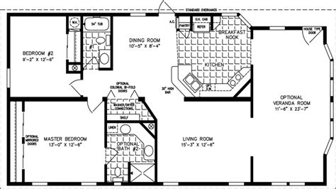 Floor Plan 1000 Square Foot House | 1000 sq ft house plans 1000 sq ft cabin 1000 square foot