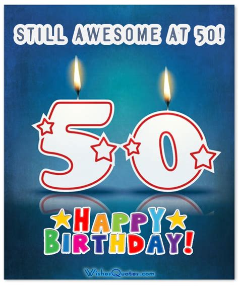 50 Happy Birthday Quotes Inspirational 50th Birthday Wishes And Images
