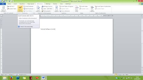 cara membuat catatan kaki dalam sebuah makalah cara membuat footnote catatan kaki di microsoft word