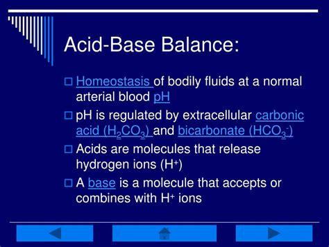 Ppt Acid Base Balance Interactive Tutorial Powerpoint Presentation Id 221118 Ppt Of Acid
