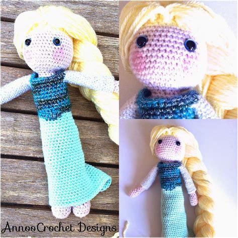 elsa crochet doll  tutorial annoos crochet world