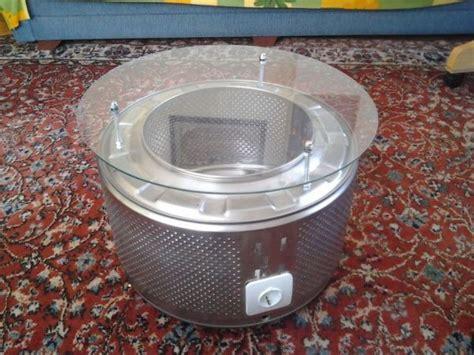 Washing Machine Drum Coffee Table   Neatorama