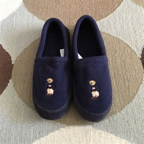 ralph lauren house slippers ralph lauren ralph lauren polo bear house slippers xl from nathan s closet on poshmark