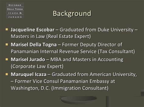 Duke Mba Real Estate by Investing In Panama