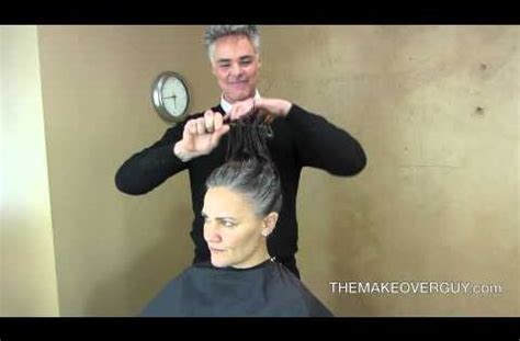 christopher hopkins hair styles long hair cut super short and reveal the gray by