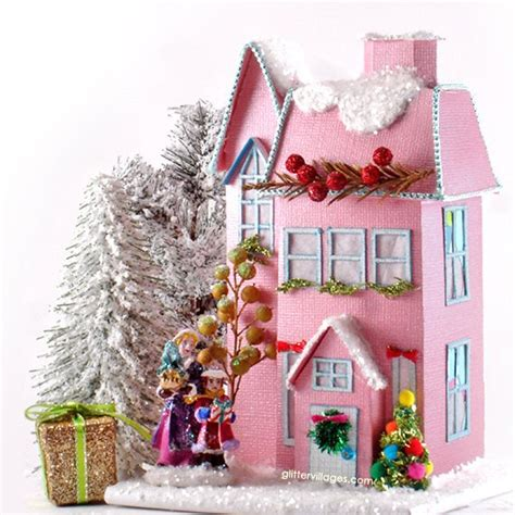 g wurm christmas houses charming miniature house pattern