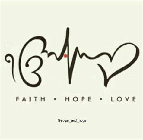 faith hope love tattoo faith s