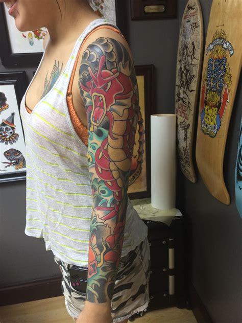 gyarados tattoo gyarados tattoos gyarados
