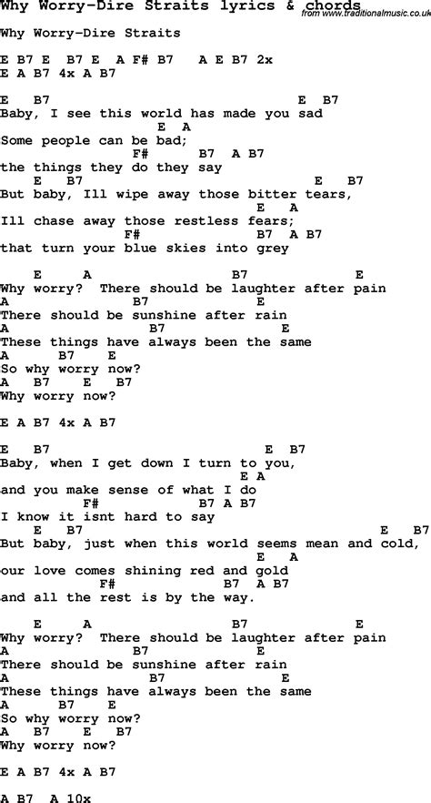 Sultans Of Swing Letra by Lyrics Of Swing Swing Song Lyrics For Why Worry Dire