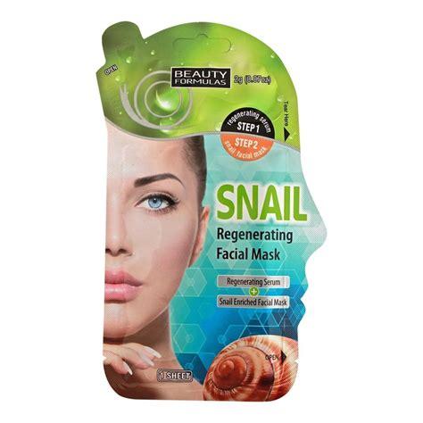 Total Solution Essential Sheet Mask Snail formulas snail regenerating mask 1sheet from pharmeden uk