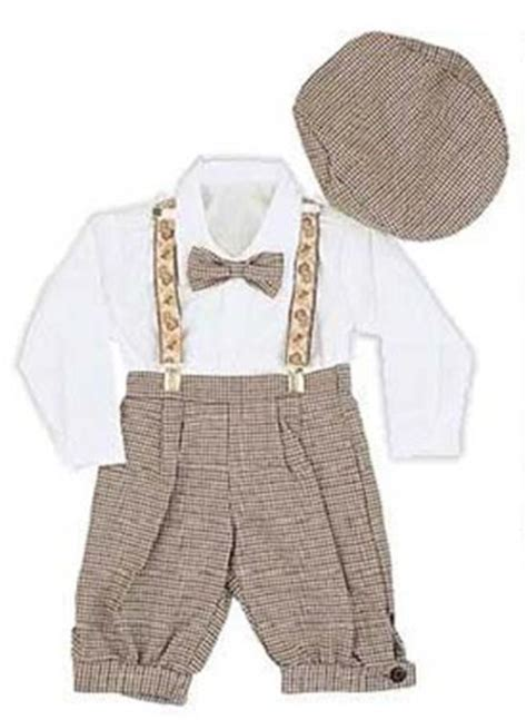 infant toddler boys vintage style knickers 5 pc