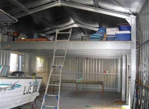 Shed With Mezzanine by Brisbane Sheds Photo Gallery