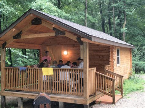 Whitewater Memorial State Park Cabins by Whitewater