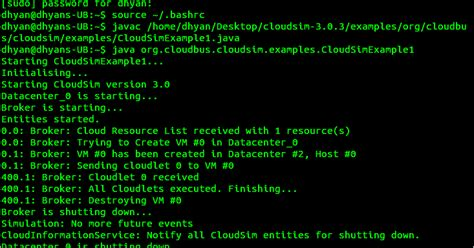 Research Paper On Cloudsim by Install With Me How To Install Cloudsim In Ubuntu In 3 Easy Steps