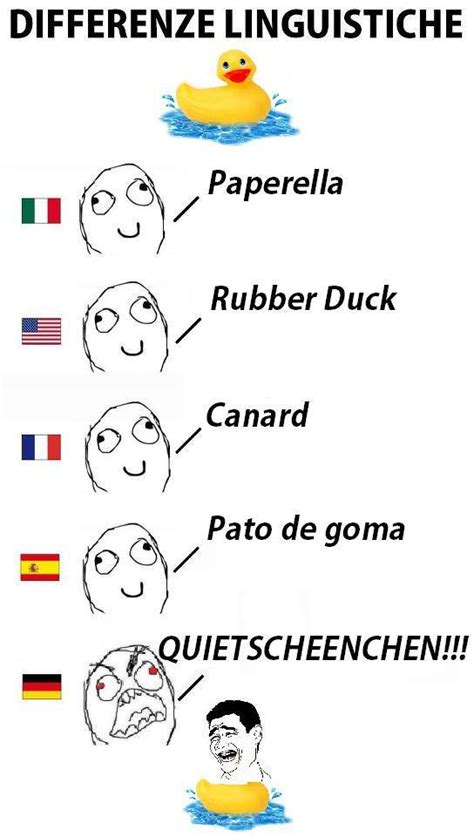 German Words Meme - image 271655 differenze linguistiche know your meme