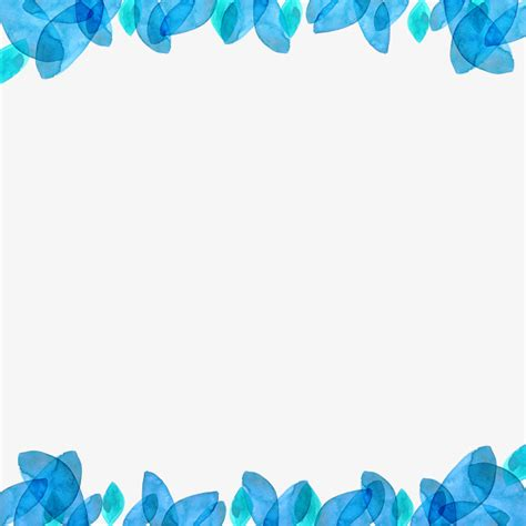 Blus Bordir Rafael 2 vector blue border frame blue painted png and vector for free
