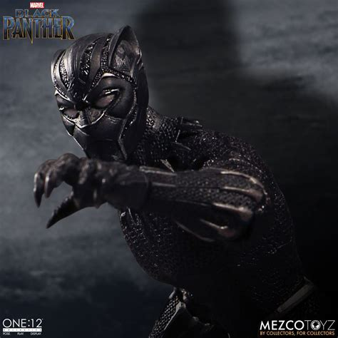Toys Black one 12 collective black panther mezco toyz
