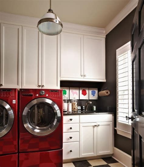 Small Narrow Laundry Room Ideas With Upper Cabinets Small Laundry Room Cabinet Ideas