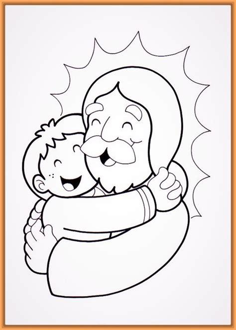 imagenes para colorear jesus y los niños comparte los bonitos dibujos de dios para pintar fotos
