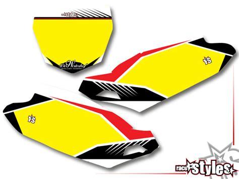 Yamaha Yz 85 Aufkleber by Yamaha Supermoto Racing Dekor Kit Yz Yzf Wrf 125 250 450