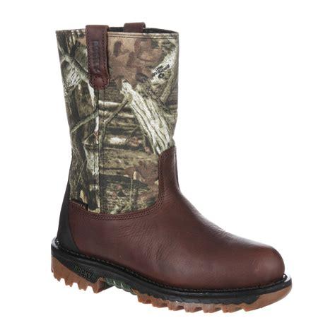 10 quot rocky outdoor ride waterproof wellington boot ro012
