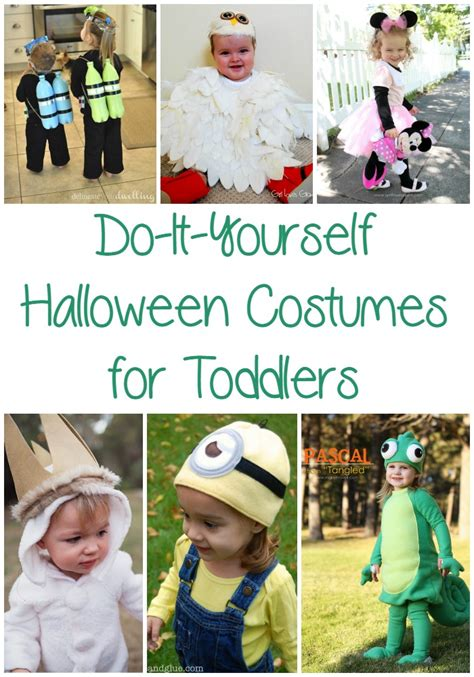 easy diy halloween costumes  toddlers optimistic mommy