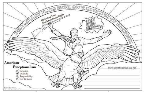 ted coloring book review ted saves america in this right wing coloring book