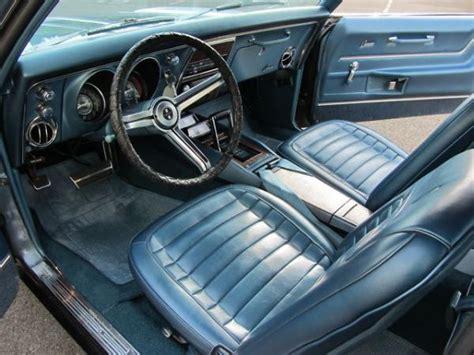 1968 camaro interior pony 1968 chevrolet camaro 327 rs