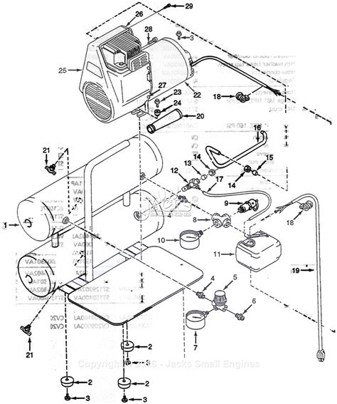 cbell hausfeld wl5041 parts diagram for air compressor parts