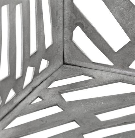 d laba bijzettafel laba in gepolijst aluminium