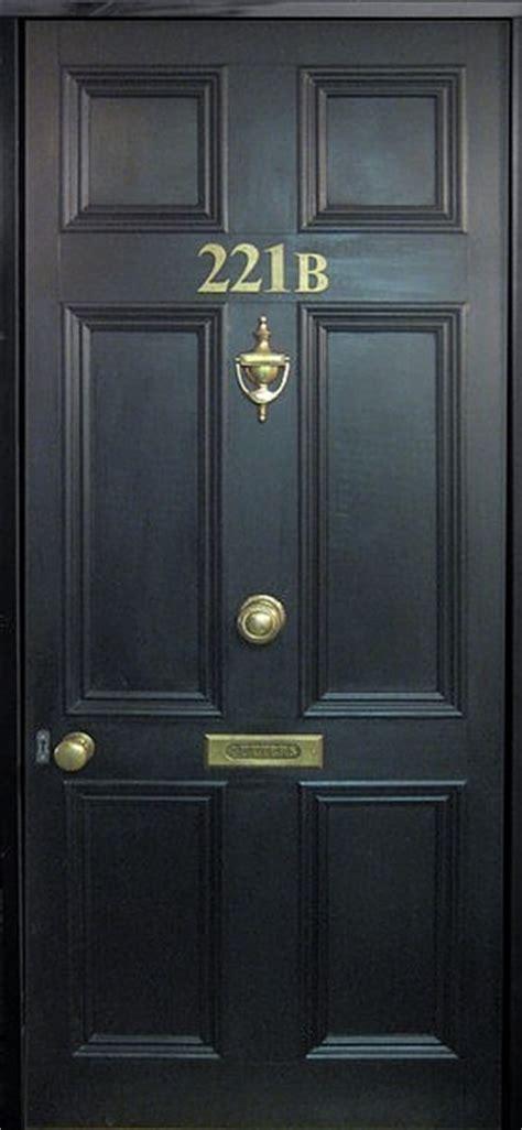 Sherlock Door 221b faux door