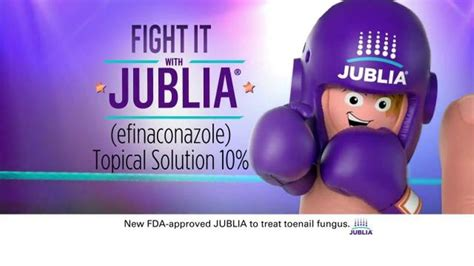 jublia tv spot toe nail fungus arrives on red carpet jublia tv commercial fight it don t hide it ispot tv
