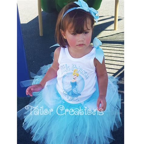 Dress Anak Princess Tutu Cinderella Sale Diskon princess cinderella glitter personalized birthday tutu dress set