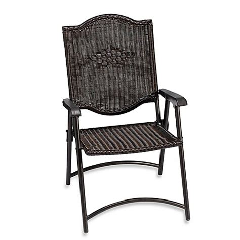 bed bath and beyond chairs all weather wicker folding chair set of 2 bed bath