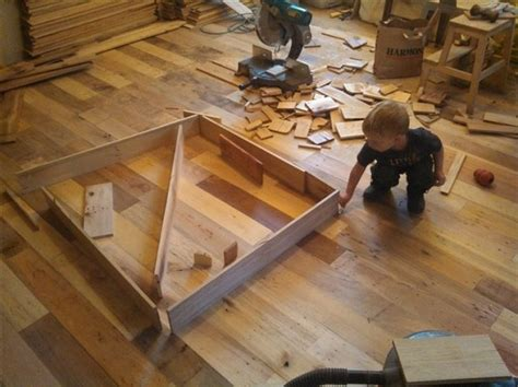 What To Do With Leftover Tile diy project pallet wood floor page 3 home design
