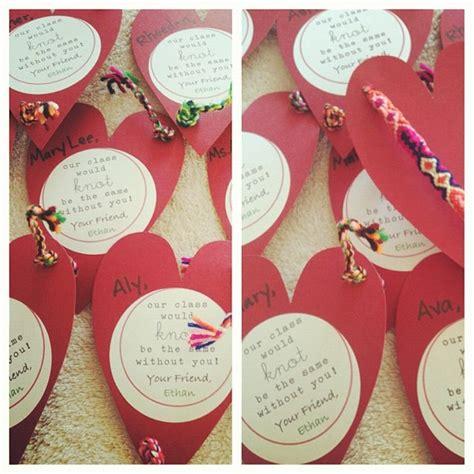 friendship bracelet valentines 146 best class valentines ideas images on