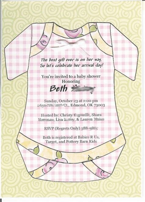 Baby Shower Invitations Wording by 10 Best Simple Design Baby Shower Invitations Wording